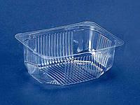 Контейнер пластиковый для салатов и полуфабрикатов ПС-180 (V250мл\117*84*46) (50 шт)