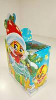 Коробка под конфеты №103б(Новогодний Павлин700) (100 шт)