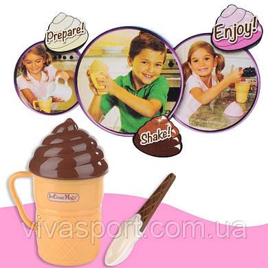 Стаканчик для приготовления мороженого Айс Крим Меджик, волшебная мороженица Ice Cream Magic
