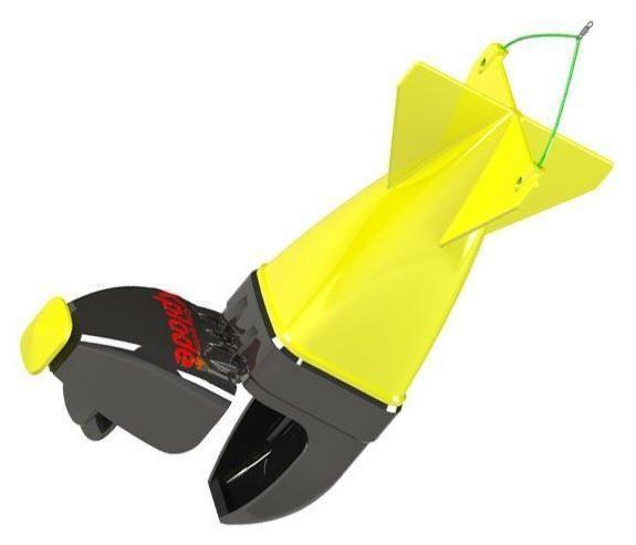 Ракета для прикормки Feima желтая
