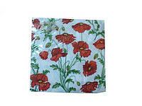 Салфетки столовые (ЗЗхЗЗ, 20шт)  La Fleur  Полотно из маков (107) (1 пач)