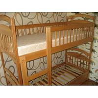 Детская деревянная кровать Карина цвет ольха