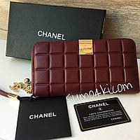 Женский модный кожаный кошелёк Chanel