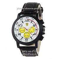 Часы наручные мужские Ferrari black-white