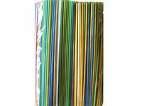 Трубочка для напитков d3-21см Алкогольная/ Ассорти МАХИТО(по500в уп) (500 шт)