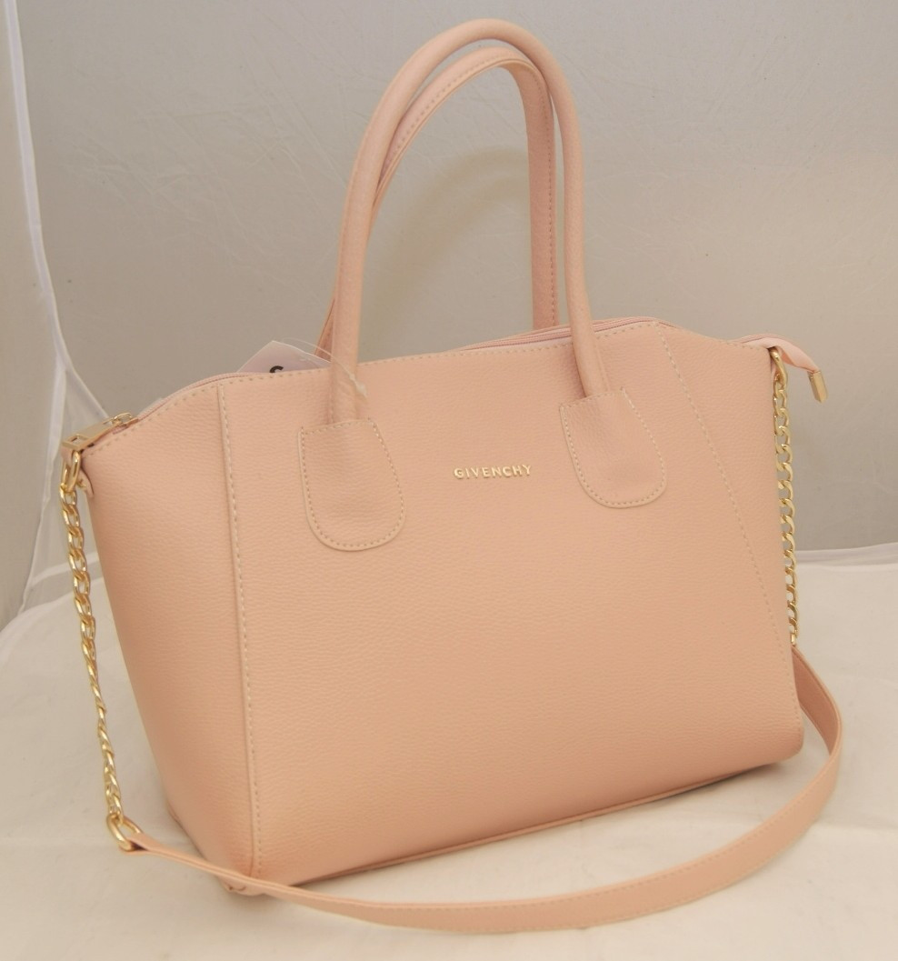 Женская сумка Givenchy, цвет пудра ( розовый ) Живанши