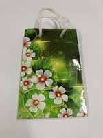 Пакет бумажный подарочный  МИНИ 8*12*3.5 арт29 (12 шт)