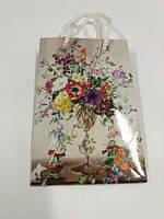 Пакет бумажный подарочный  МИНИ 8*12*3.5 арт25 (12 шт)