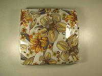 Салфетки столовые (ЗЗхЗЗ, 20шт)  La Fleur  Полотно из лилий 508 (1 пач)