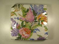 Красивая салфетка (ЗЗхЗЗ, 20шт)  La Fleur  сиреневая нежность 510 (1 пач)