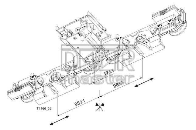 Электрозамок Tormax 2101/2201, фото 2