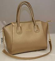 Женская сумка Givenchy, цвет золото Живанши