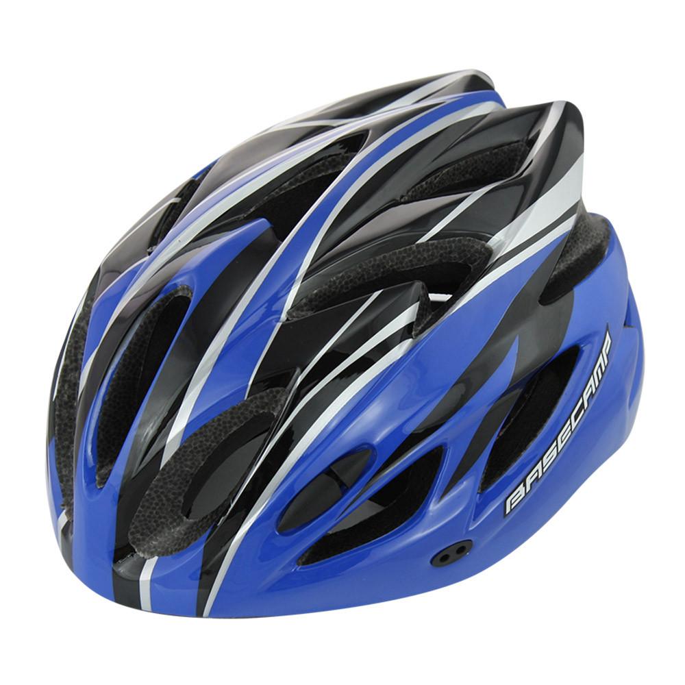 Шолом велосипедний BaseCamp bc012, синій