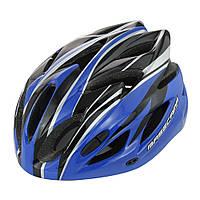 Шолом велосипедний BaseCamp bc012, синій, фото 1