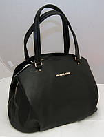 Женская сумка Michael Kors с двумя змейками, цвет черный Майкл Корс MK