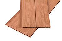 Фасадная доска панель Венге, древесно полимерный композит, ДПК