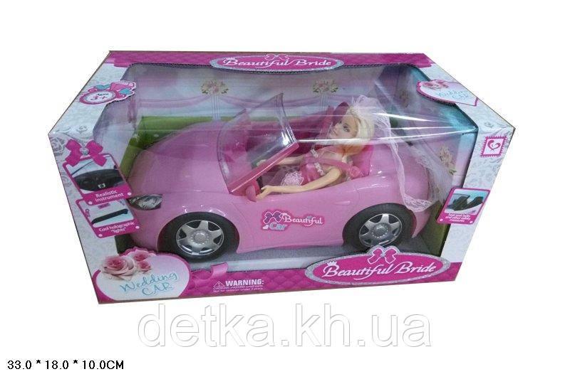 Кабриолет для куклы K877-30D с куклой