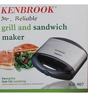 Сэндвичница бутербродница Kenbrook KB-907 гриль, фото 1