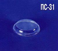 Крышка полипропиленовая круглая ПС-31 (Стакан ПП 0.350) (50 шт)