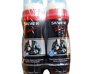 Крем-краска для кожаных курток и аксессуаров Silver премиум 100ml  (чёрный) (1 шт)