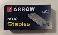 Скобы для канцелярского степлера №10(1000шт) Arrow (1 кор)