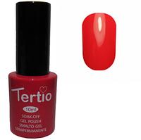 Гель-лак Tertio №045 Нежно-красный болотный 10 мл
