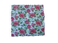 Салфетки столовые (ЗЗхЗЗ, 20шт)  La Fleur  Полотно из роз (908) (1 пач)