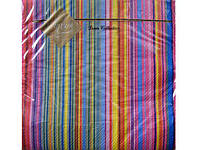 Салфетки столовые (ЗЗхЗЗ, 20шт) Luxy  Яскрава Смужка (501) (1 пач)