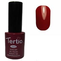 Гель-лак Tertio №047 Красно-сиреневый болотный 10 мл