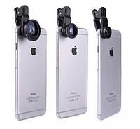 Линзы для макросъёмки (Набор объективов)на телефон Leiqi HE-033