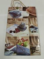 Бумажный пакет подарочный Средний 17/26/8 (артSV-070) (12 шт)
