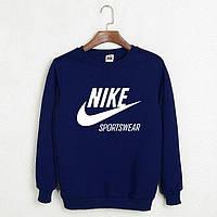 Свитшот Nike темно-синий
