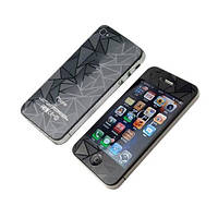 Защитное стекло iPhone 5 Prizma 3D Black передние и задние (2,5D, 9H, 0,3 мм)