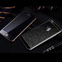 Защитное стекло iPhone 6 / 6s  Prizma 3D Black передние и задние (2,5D, 9H, 0,3 мм)