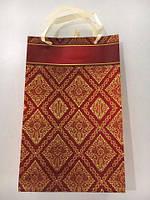 Бумажный пакет подарочный Средний 17/26/8 (артSV-018) (12 шт)