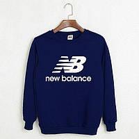 Свитшот New Balance темно-синий