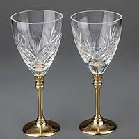 Свадебные хрустальные бокалы