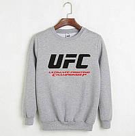 Свитшот UFC серый