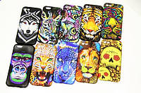 Animal face TPU case for iPhone 5/5S/SE