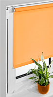 MS-02 мексиканский апельсин (83Х160 см) - рулонные шторы  Vidella ( Виделла) Fresh Mini