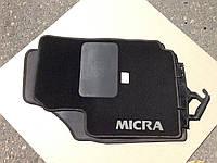 Коврик салона текстильный Nissan Micra 2002-2010