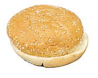 Булочка для гамбургеров пшеничная с кунжутом 70г (замороженная)