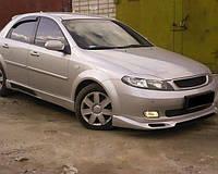 Ресницы на фары Chevrolet Lacetti 2004-2013 Hb