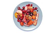 Фруктовая смесь свежезамороженная весовая (яблоко, слива, вишня, арония, абрикос)
