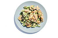 """Смесь """"Лобио с грибами"""" замороженная весовая (шампиньоны, фасоль стрючковая, морковка, лук, кукуруза)"""