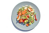 "Смесь ""Овощи для жарки"" замороженная весовая (перец, капуста брокколи, морковка, лук)"