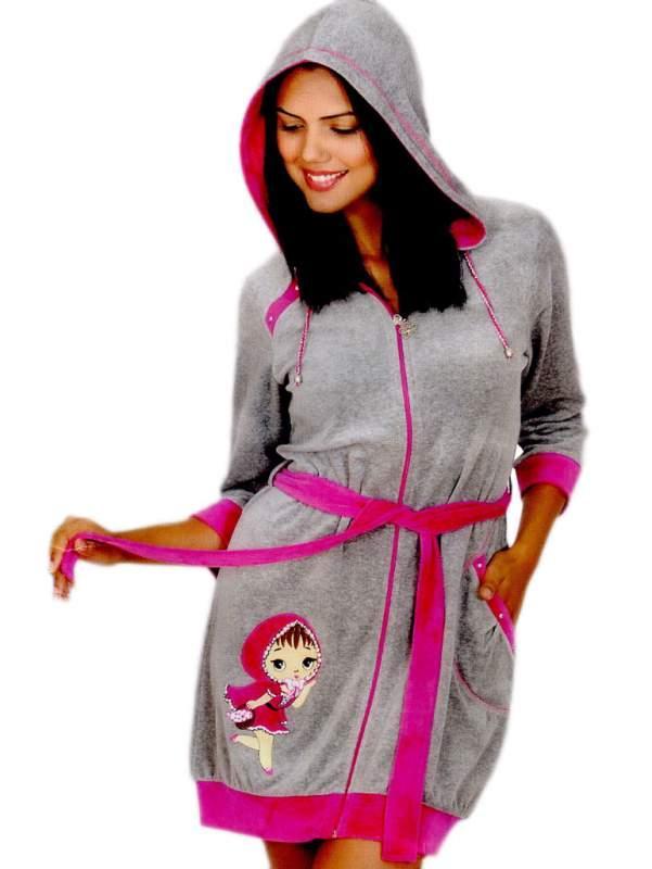 Велюрованые халаты