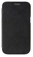 Melkco Book leather case for Samsung S6802 Galaxy Ace DuoS, black (SS6802LCFB2BKLC)