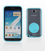 Yoobao Rotating holder case for Samsung N7100 Galaxy Note II, blue (PCSAMN7100-HBL)