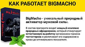 Big Macho - капсули для потенції (Біг Мачо), фото 3